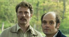 Mads Mikkelsen and David Dencik in Men & Chicken