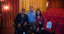 Jason DaSilva, Loren Abdulezer, Joana Vicente (Photo: Kristen Vetter )