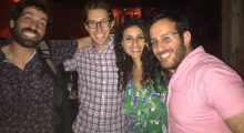Joshua Z Weinstein, Zach Mandinach, Danelle Eliav, Royce Brown at the IFP Narrative Lab
